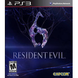 Resident Evil 6 Playstation 3 Ps3 A Tratar