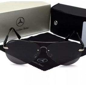 Óculos Mercedes-benz Modelo Aviador Af - 67951 Gb Gun black d13fa546e4