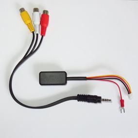 Saída De Áudio E Vídeo Eletrônica - Sem Solda Sem Perfuração