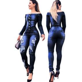 Promo Djavan - Macacão para Feminino no Mercado Livre Brasil f2f74eef964