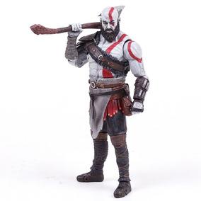 Boneco God Of War 4 Kratos Action Figure Novo Pronta Entrega