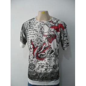 Camisa De São Jorge Flamengo - Camisa Masculino no Mercado Livre Brasil b8fe17262cb29