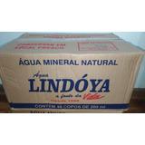 Água Mineral Em Copo Lindóya Caixa Com 48 Unidades 200 Ml