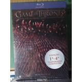 Blu-ray Game Of Thrones : 4 Temporadas Completas (20 Discos)