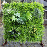 Uland Artificial Seto Vertical Jardín Verde Pared Planta Uv