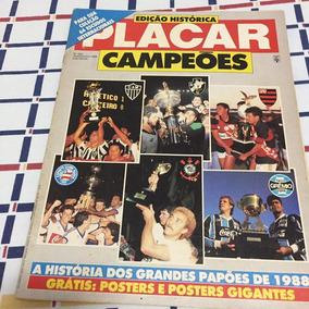 Revista Placar N.950 - Agosto/1988 *sem Os Poster Gigante