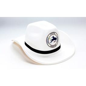 Kit Chapéu Country De Eva Personalizado Branco 100 Unidades. R  450 9a4a310a373