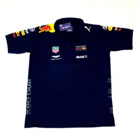 Camisa Camiseta Polo F1 Red Bull Aston Lançamento 2018/19