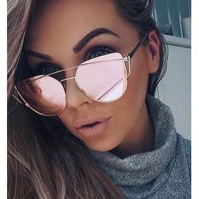 ec850c5b3cd4e Oculos Espelhado Rosa Barato - Óculos no Mercado Livre Brasil