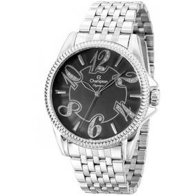 b77a803bbc0 Relogio Feminino Dourado Com Prata Barato Champion - Relógios De ...