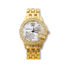 096db3e7158 Relogio Geneva Pulseira Borboleta - Joias e Relógios no Mercado ...