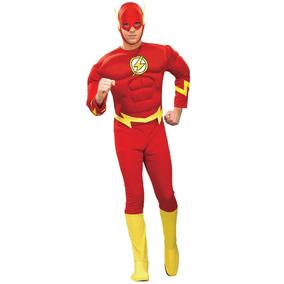 Disfraz Flash Hombre Adulto Standar Original Dc Comics 51fe8e917f8