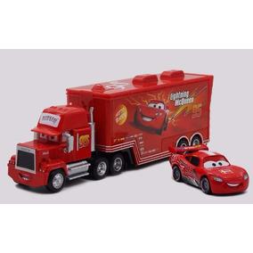 Caminhão Mack + Carro Relâmpago Mcqueen Carros