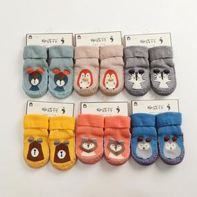 Calcetas-zapatitos Para Bebés Tallas En Descripción