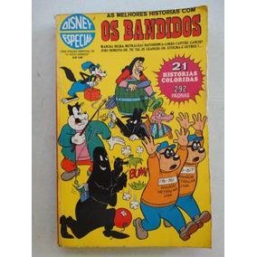 Disney Especial Nº 1! 1ª Edição! Os Bandidos! Jul 1972!
