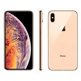 iPhone Xs Max Apple 64gb Ouro 4g Tela 6,5