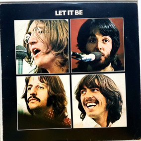 Lp The Beatles - Let It Be - Apple 1970 - N- Novo. Com Aspe
