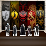 Kit Painel+display Festa Game Of Thrones Série