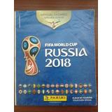 Álbum Figuritas Russia 2018. Panini (252 Figuritas)