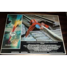 Superman O Filme Christopher Reeve Lobby Cards Da Epoca 1978