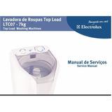 Manual Serviço Lavadora Electrolux Ltc07 7kg Pdf E-mail Driv