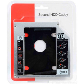 Adaptador Universal Caddy 2º Hd Ssd/dvd P/notebook 9mm 9,5mm