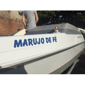 Adesivo Nome Personalizado Para Barco Iate Lancha