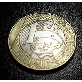 Moeda De R$1,00 Comemorativa Direitos Humano, Ano1998 Níquel