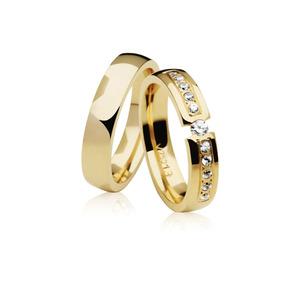 dea32fcc1c4 Par De Alianças One Love Em Ouro Branco E Diamante Vivara - Joias e ...
