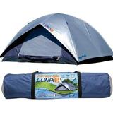 Barraca Camping Luna 6 Pessoas Mor 2,60 X 2,60 X 1,65 Fps100
