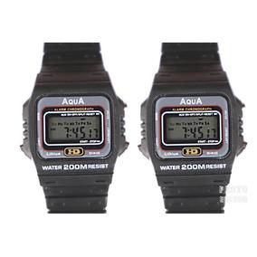 868be09f86c Kit 2 Relógios Masculino Aqua Aq 37 Modelo Novo Promoção