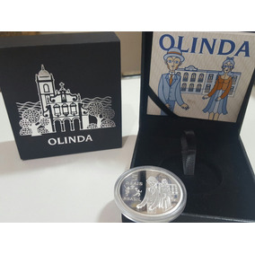 Moeda Comemorativa, Olinda, Prata. Unesco !