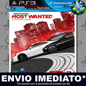 Ps3 Need For Speed Most Wanted Mídia Digital Psn Envio Agora