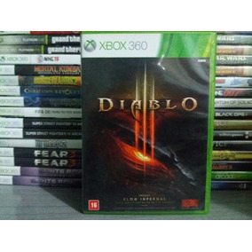 Jogo Diablo 3 Xbox 360 Original Mídia Física Em Português
