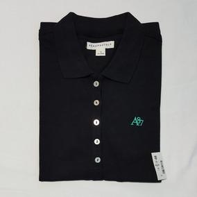Novas Camisa Polo Feminina Aeropostale ceb066fd322