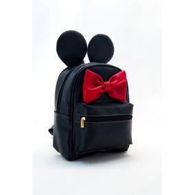 Mochila Minnie Mickey Mouse Mod 3212 Dama Bolsa Mujer Full 3e2b9cda194