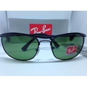 Ray Ban 8012 Demolidor Preto Lentes Verde G15 Cristal - Óculos De ... d6ffbfe5f0