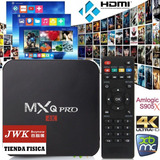 Tv Box Android 7.1 Mxq Pro 4k Chromecast Google Jwk Vision