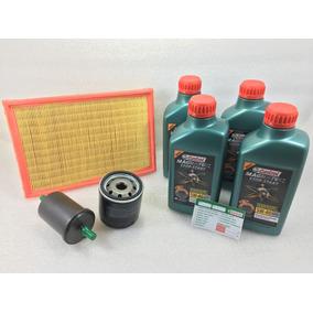 Kit Troca Oleo Gol G4 G5 G6 1.0 5w40 50200 + Filtros Orig Vw