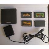 Nintendo Game Boy Advance Sp Color Gris