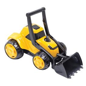 Brinquedo De Criança Trator Fazendinha Com Pa Movel Braço