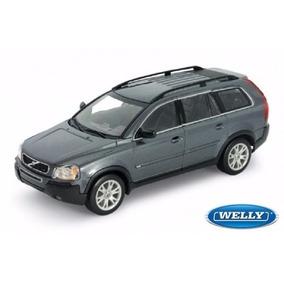 Volvo Xc90 Cinza Chumbo 1/18 Welly