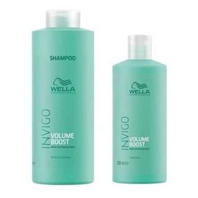 Kit Wella Professionals Invigo Volume Boost Shampoo 1000ml +