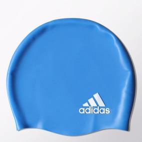 Gorra De Natación adidas Silicone Nuevo Sellado Azul d136bd92430