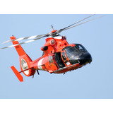 Helicóptero Rescate Hh-65c Delfín Uscg Escala 1:48 New Ray