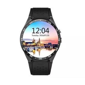 Kingwear Kw88 Telefone Smartwatch 3g - Preto