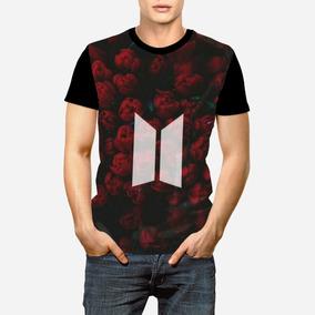 Camisa Bts Rosa - Camisetas e Blusas para Masculino no Mercado Livre ... ea5b75dd903e5