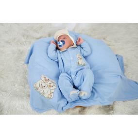 ad00521df4 Saida Maternidade Urso Principe - Roupas de Bebê Azul claro no ...