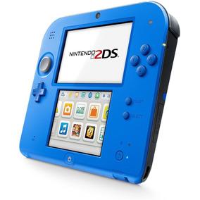 Nintendo 2ds 32gb -desbloqueado+pelicula+carregador Original