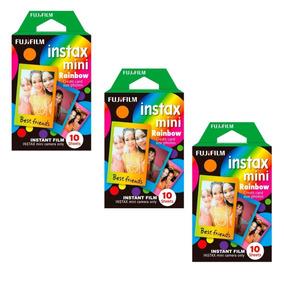 Filme Fujifilm Instax Rainbow 30 Fotos